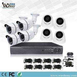 Sistem DVR Nyata Surveillance 8chs 2.0MP