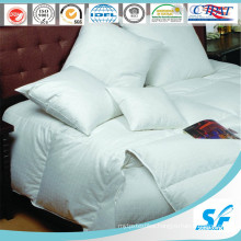 100% White Plain Quilted Hotel Goose Down Duvet (SFM-15-111)