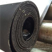 1 folha de borracha de inserção de algodão dobra em rolos