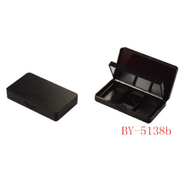 Matte Black 3 Color Eyeshadow Case