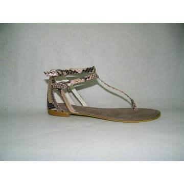 Sandalias planas de las nuevas mujeres del estilo (HCY03-094)