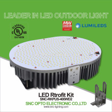 Jogos de retrofit aprovados UL 400W da luz do parque de estacionamento do diodo emissor de luz da proteção do controle de temperatura