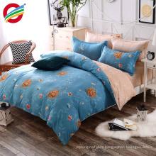 elegant image 100% cotton reactive printed bedding sheet set