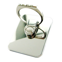 Metal diamond 360 degree rotating mobile phone seat