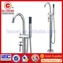 Piso de pé-tipo banheira misturador banheira torneira / para o exterior ou banheiro109068