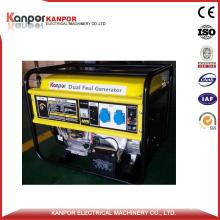 Kanpor 5kw Dual Fuel (LPG & Gasoline) Generator Set