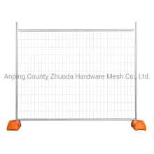 Fully Hot Dipped Galvanized Australia New Zealand Temporary Wire Mesh Fencing