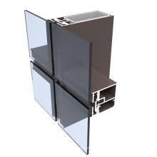 Perfiles de aluminio de extrusión de aluminio serie 6000