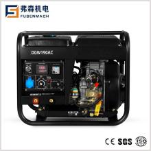 Portable Diesel Welding Generator with Welding Current 190A