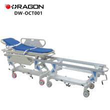 New Design DW-CT001 CE&ISO Approved Hospital Connecting Patient Trolley
