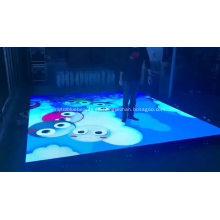 Pista de baile llevada interactiva al aire libre llevada portátil