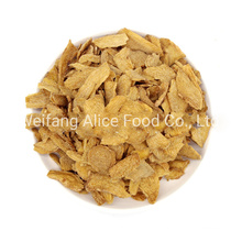 China Made VF Vegetables Snacks Vacuum Fried VF Ginger Slice with Black Brown Sugar