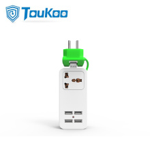 Travel USB cambiador universal power strip portátil