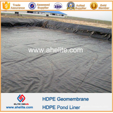 Geomembrana HDPE para lagunas de tratamiento de aguas residuales