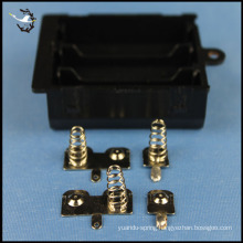 custom electrical battery contact springs