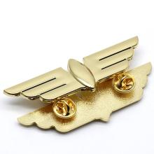 Wholesale Custom Metal Engraved Brass Lapel Pins