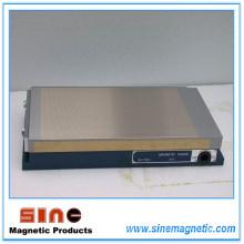 Chariot magnétique / étrier permanent (broyeur de surface, machine EDM et machine à découper linéaire)
