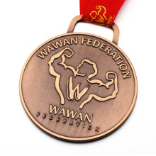 Stamped Metal Medallion Heavy Large Custom Medal
