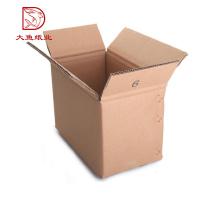 Bonne qualité boîte en carton ondulé usine 3 couche boîte de carton