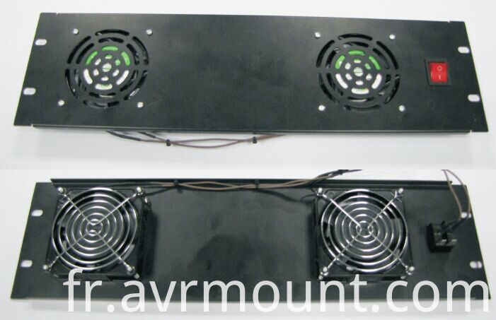 2 FAN board for AV rack