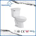 South America Bathroom Ceramic Two Piece Toilet