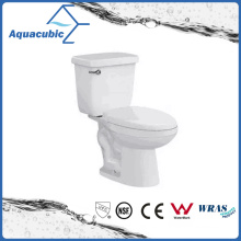 South America Bathroom Ceramic Two Piece Toilet