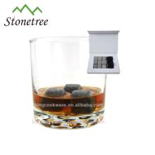 Granit Whisky Chilling Rocks / grauer Eiswürfel Weinsteine / Barzubehör Whisky Stone