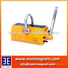El levantador magnético permanente hecho en cadena / es la facilidad de elevación más ideal para las fábricas, los muelles, los almacenes / el surtidor de China