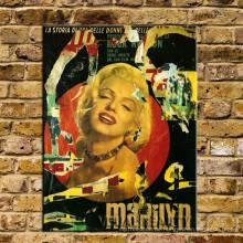 Weinlese Marilyn Monroe Dekoration
