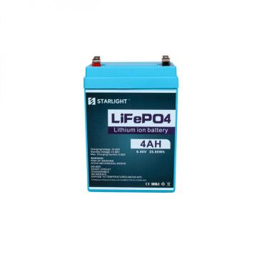 6.4V 4AH LiFePO4 Battery Replaced Lead Acid Battery