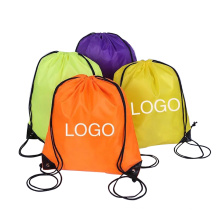 Newest strong 100% nylon polyester sunglasses drawstring sport rucksack backpack bag no minimum