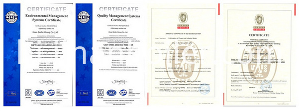 Company Certificates Two