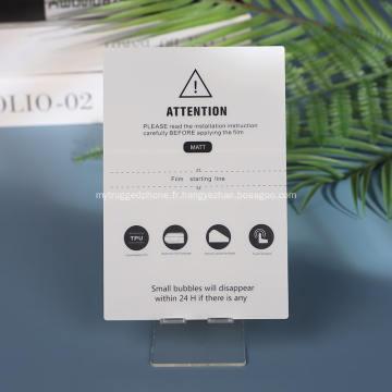 Protecteur d'écran antireflet mat pour téléphone intelligent