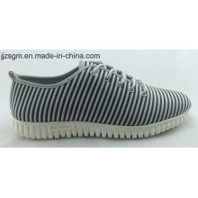 Casual Fashion Flyknit Lace-up Shoes for Men