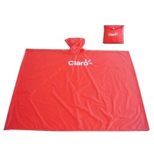 Pvc waterproof adult rain poncho