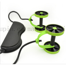 OEM Multifunctional Sit up Chest Developer Chest Expander with Wheel