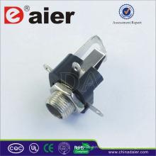 Tamaños de 6.35 mm de conectores de audio para conector de audio, General Jacks de EE. UU. *