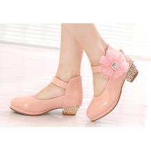 PU Enfants Chaussures Chaussures Habillées Enfants Chaussures pour Fille