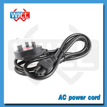 UK Power Cable with 3 Prong Plug