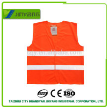 EN20471 chaleco de seguridad reflectante personalizado con bolsillo