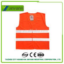 Colete de segurança refletivo personalizado EN20471 com bolso