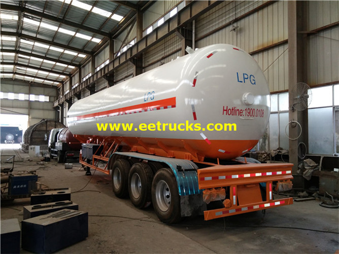 LPG Delivery Tank Trailers