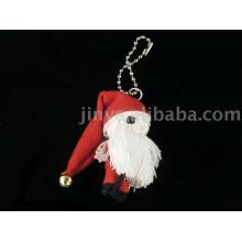 Schnur-Puppe Voodoo-Puppe Keychain Weihnachtsmann