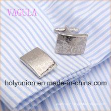 AAA Qualité VAGULA Laser Boutons de Manchette Cadeau Manchette Liens De Luxe Hommes Cufflings