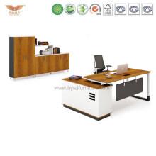 Office Manager Melamine Office Desk with L Shape Return (H90-0107)