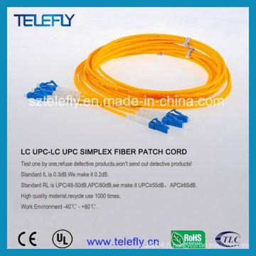Câble de cordon de raccordement LC Single Mode