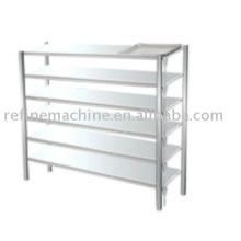 Stainless steel shelf for drain vegetable water