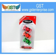Mini Plastic Pull Back Racing Cars