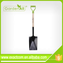 """Agriculture Tools Square Point Garden Shovel With 7.1/4"""" Blade"""