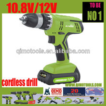 QIMO Professional Power Tools 1007 Single Speed Cordless Drill